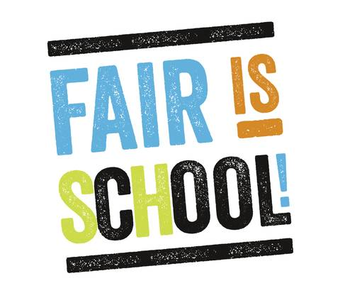 Logo: Fair is school